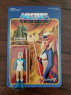 $74.99 • Buy Super7 ReAction Masters Of The Universe Figure MOTU Sorceress Wave 2 RARE! MOC