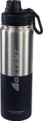£21.19 • Buy Oztent Alpine 710ml Stainless Vacuum Insulated Bottle Silver/Black