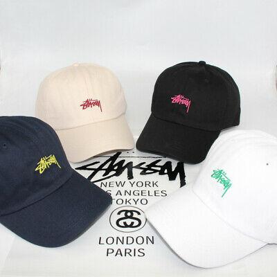 Stussy Men's And Women's Hip-hop Baseball Caps Embroidered Pointed Caps Sun Hats • 15.66£