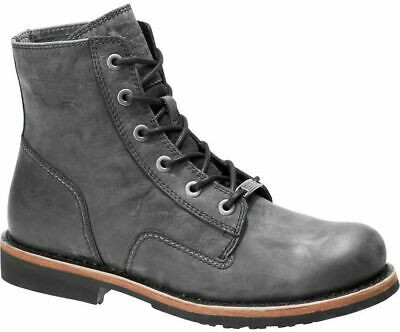 $ CDN102.58 • Buy Mens Harley Davidson Burdon Lace Up Riding Biker Ankle Boots Sizes 6 To 12