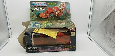 $40 • Buy Vtg 1982 MOTU Attak Trak He-man Masters Of The Universe With Box