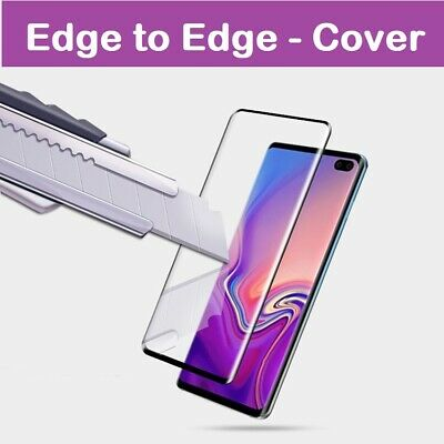 For Samsung Galaxy S10 S20 S9 S8 Plus Tempered Glass Screen Protector Film Curve • 1.39£