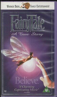 Fairytale A True Story (Warner Bros VHS) • 4.50£
