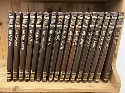 £35 • Buy 17 Time Life Books The Old West Leather Bound Hardback Books 1975 Indian Chiefs
