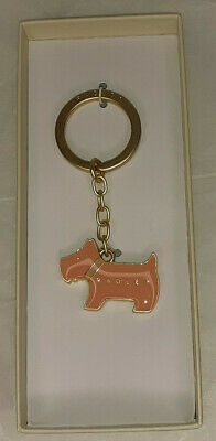 £10 • Buy RADLEY Boxed Pageant Keyring Light Pink Scotty Dog With Cream Collar BNIB RRP£15