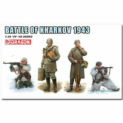 DRAGON 6782 Battle Of Kharkov 1943 Figures Model Kit 1:35 • 14.50£