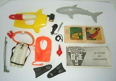 $ CDN95 • Buy 1964 1969 GI Joe Danger Of The Deep Accessories & French Canadian Booklet