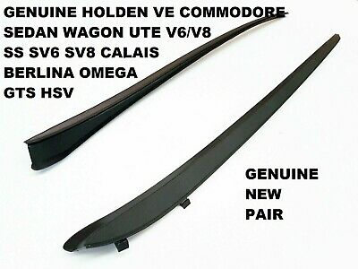 AU75 • Buy Pair Holden Commodore Ve Calais Sv6 Ss Front Windscreen Side Rubber Seal New