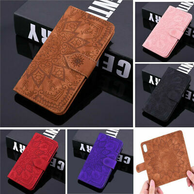 Case For IPhone 6S 7 8 Samsung Galaxy Huawei Phone Leather Flip Card Walet Cover • 4.88£