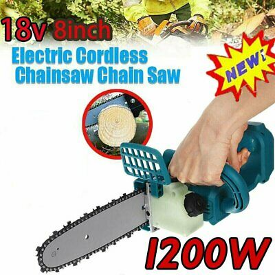 8  18V Brushless Cordless Electric Chainsaw Cutting Tool For Makita Battery • 80.26£