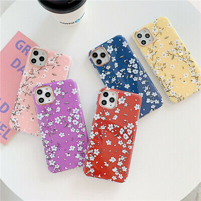Shockproof Floral Phone Case Cover For IPhone 11 Pro XS Max XR 7 8 Plus SE 2020 • 4.85£