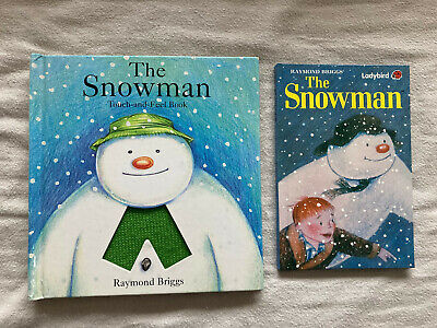 £5.99 • Buy Raymond Briggs The Snowman Books Ladybird And Touch And Feel Good Condition