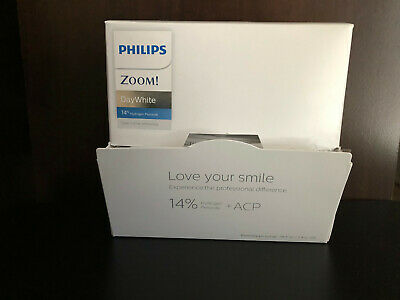 AU18.79 • Buy Philips ZOOM 14% DayWhite Day White Teeth Whitening Gel  2 Syringes