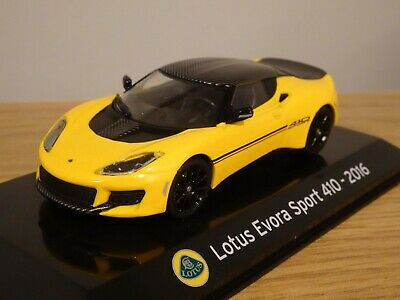 $ CDN28.39 • Buy Altaya Ixo Supercars Lotus Evora Sport 410 2016 Yellow Car Model Mk17 1:43