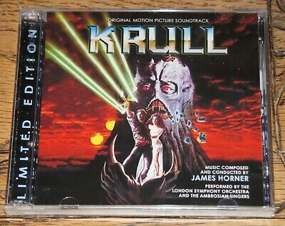 Krull Expanded 2xcd James Horner 2015 La-la Land Records Reissue Sent From Uk • 36.44£