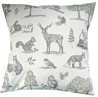 £8.75 • Buy Cushion Cover In Clarke And Clarke New Forest Woodland 14  16  18  20