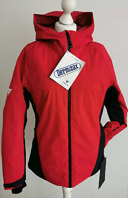 DAINESE HP2 L4 - SKI JACKET - WOMEN'S - Chili Pepper Red STRETCH LIMO Size L • 199£