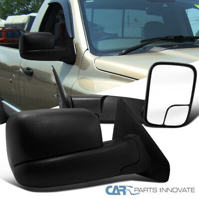 $83.11 • Buy For 02-08 Ram 1500 03-09 Ram 2500 3500 Pickup Manual Flip Up Towing Side Mirrors