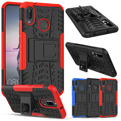 Heavy Duty Armour Shockproof Kickstand Phone Case Cover For Huawei P20 Lite/Pro • 2.99£