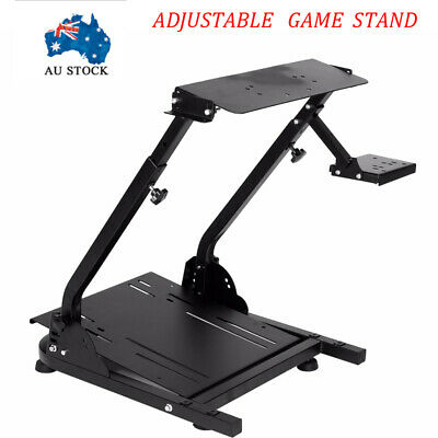 AU107.99 • Buy Adjustable Game Stand Game Support For Logitech G29/G27 Racing Wheel Shifter New