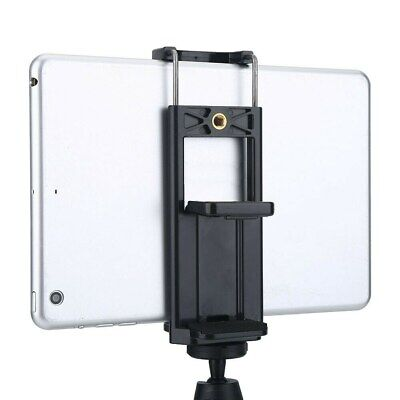 Tripod Monopod Adapter Phone Tablet Clip Stand Mount Bracket For IPhone IPad • 4.79£