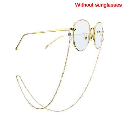 Gold Glasses Chain Strap Spectacle Eyeglasses Sunglasses Cord Holder Fashion OS • 4.50£
