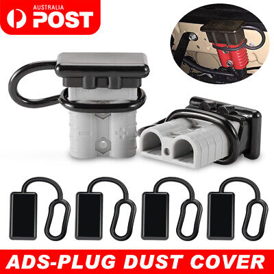 AU4.25 • Buy 2x Dust Cap For Anderson Plug Cover Style Connectors 50AMP Battery Caravn 12-24V