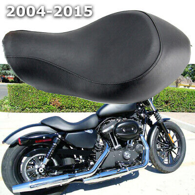 $88.98 • Buy Driver Rider Solo Seat For Harley Sportster XL1200 XL883 48 72 Custom 2004-2015