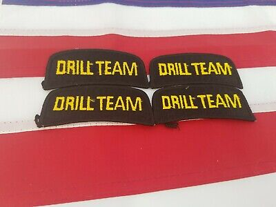 $9.99 • Buy  Lot Of 4 Drill Team Patches Military Militia