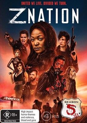 AU22.70 • Buy Z NATION - Season 5 : NEW DVD