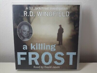 A Killing Frost: (Di Jack Frost Book) By RD Wingfield, CD-Audio Book • 9.99£