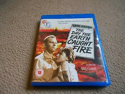 £6.49 • Buy The Day The Earth Caught Fire (Blu-ray) Val Guest, Edward Judd, Leo McKern