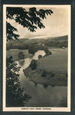 £3.99 • Buy Kirkby Lonsdale Cumbria Picture Rp Real Photo  Postcard Ruskin View
