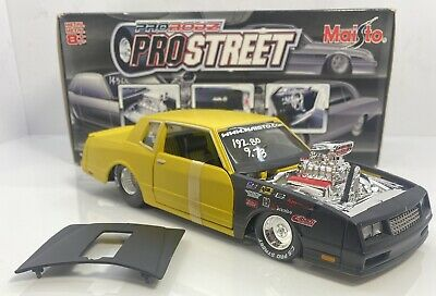 $75 • Buy Maisto 1/24 Scale Chevrolet Monte Carlo SS Pro Street Limited Edition & Detailed