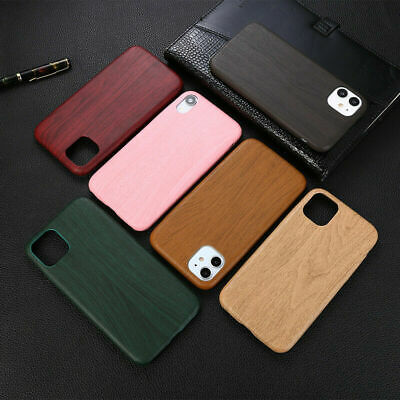 Simple Natural Wooden Wood Phone Case Cover For IPhone 11 Pro X XR XS Max Plus 8 • 4.36£