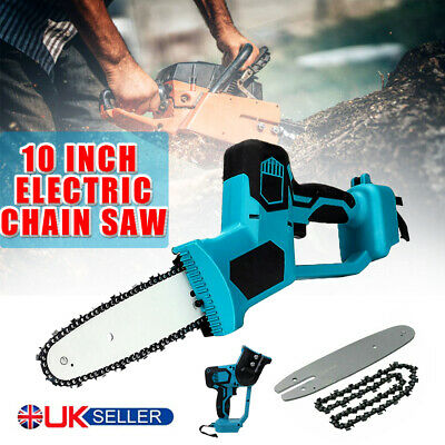 Electric Cordless Chainsaw Chain Saw Garden Cutting Tools For Makita Battery • 47.29£