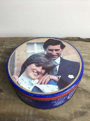£5 • Buy Vintage Crawfords Shortbread Tin Commemorating The Marriage Of Charles & Diana