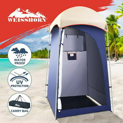 AU61.95 • Buy Weisshorn Camping Shower Tent Outdoor Portable Changing Room Toilet Ensuite Navy