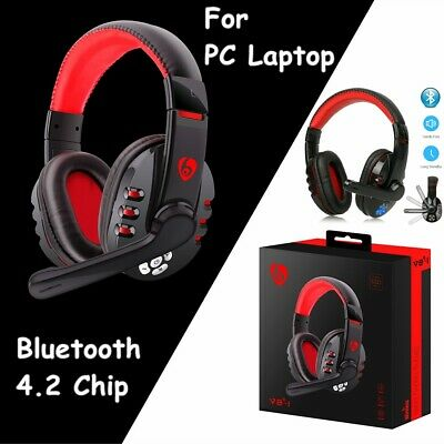 AU33.29 • Buy Wireless Bluetooth Gaming Headset Headphones Stereo W/ Mic For PC Laptop AUS