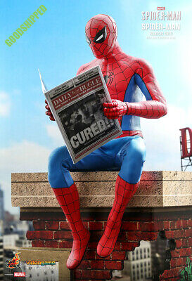 $ CDN404.56 • Buy Hot Toys Marvel Spiderman Spider-man Classic Suit Vgm48 1/6 New