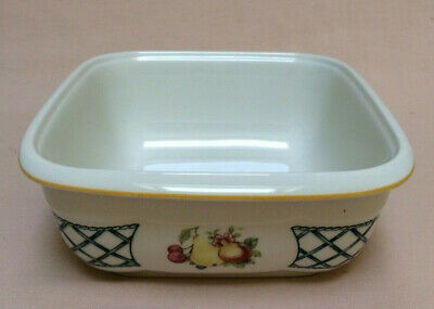 Villeroy & Boch  Basket  Microwave Safe Square SERVING BOWL Base • 24£