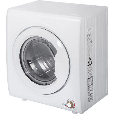 View Details 2.65 Cu.Ft Laundry Dryer 9 LBS Capacity With 1400W Drying Power Compact Tumble  • 325.99$