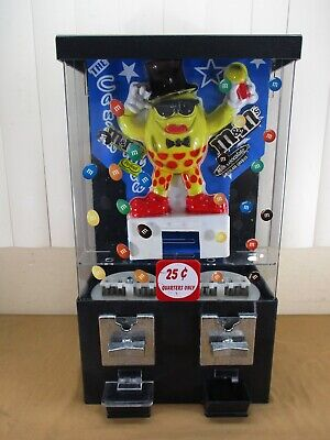 $138.75 • Buy Vintage Collector M&M Character Candy Vending Machine Dispenser 25₵ WORK GREAT