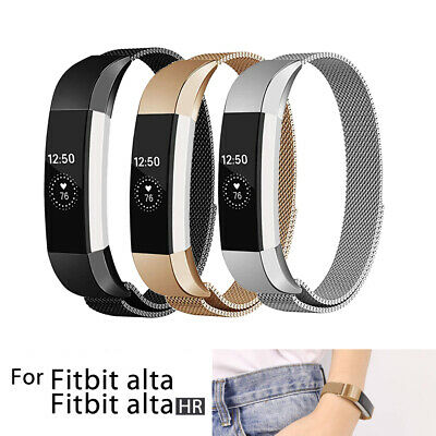 AU9.75 • Buy Fitbit Alta / Alta HR Stainless Steel Magnetic Replacement Spare Band Strap