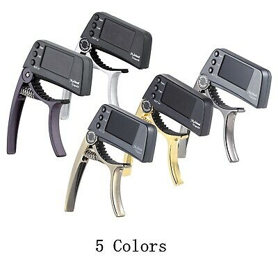 $ CDN22.68 • Buy Acoustic Guitar Capo Quick Change Key Guitar Capo Tuner For Electric Guitar Bass