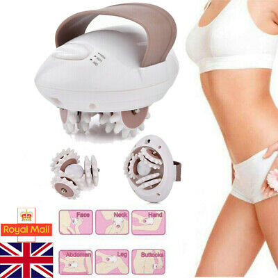 NEW 3D Electric Anti-Cellulite Body Massager Roller Shaping Slim Massaging Tool • 8.15£