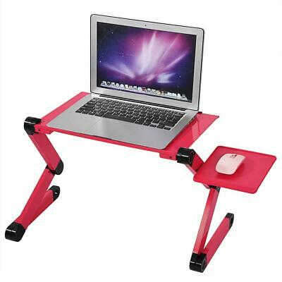 Notebook Laptop USB Desk Table Bed Cooling Fans Stand Tray Adjustable Foldable • 15.69£