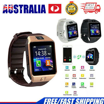 AU18.99 • Buy DZ09 Bluetooth Camera Smart Watch Fitness Sports Run GSM GPRS SIM