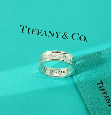 £187.99 • Buy Tiffany & Co. Sterling Silver 1837 Classic Band Ring, Various Sizes
