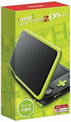 AU257.41 • Buy Nintendo 2DS LL (XL) Black X Lime Console From Japan